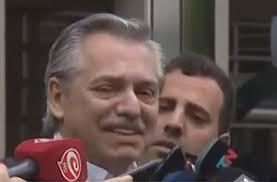 Alberto Fernandez y su trato con los periodistas