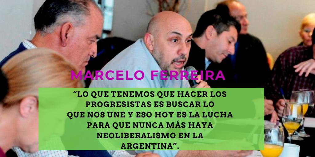 Marcelo Ferreira intenta reunir al progresismo